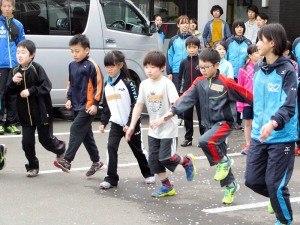 運動会直前!走り方教室