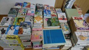 旭川市在住の方に、漫画・医学書・音楽系の本を約700点お売りいただきました!