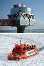 流氷砕氷船ガリンコ号II/氷海展望塔オホーツクタワー